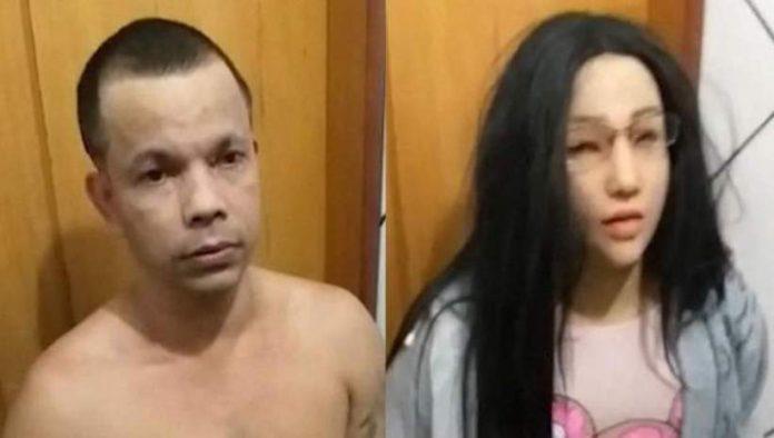 Rio De Janeiro: A Brazilian Gang leader tried to escape prison disguised as his daughter