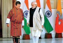 "Narendra Modi Meets Bhutan PM,Discuss ""Strong"" Relationship"