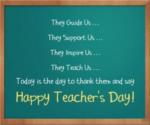 Happy Teachers Day! Messages and quotes to share on this special day