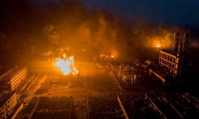 19 Killed, 3 Injured After Fire Breaks Out in Factory in East China
