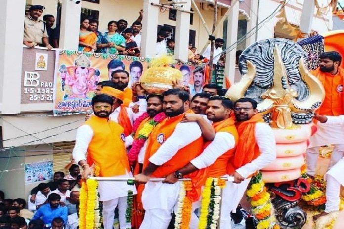 Popular Balapur Ganesha laddu fetches Rs 17.60 lakh