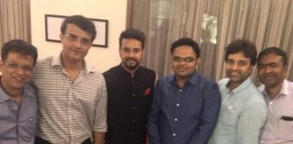 """Sourav Ganguly Shares Photo With """"New Team At BCCI"""", Thanks Anurag Thakur"""
