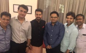 "Sourav Ganguly Shares Photo With ""New Team At BCCI"", Thanks Anurag Thakur"