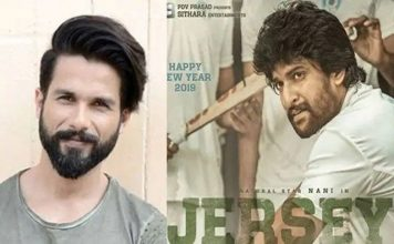 Official! Shahid Kapoor to reprise Nani in the Bollywood remake of Jersey