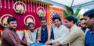 Allu Arjun and Sukumar film Launched