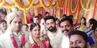 Lakshmi' NTR actress Yagna Shetty ties the knot with Sandeep Shetty