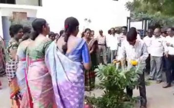 RTC workers attempt to lay siege to MLA Gampa Govardhan house in Kamareddy