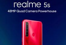 Realme 5s key specs out ahead of launch, will be similar to Realme 5