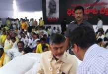 Vijayawada: Tension prevails at Dharna Chowk as YSRCP protest against Chandrababu's deeksha