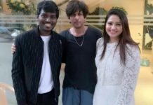 Shah Rukh Khan chills with Directors Vetri Maaran and Atlee