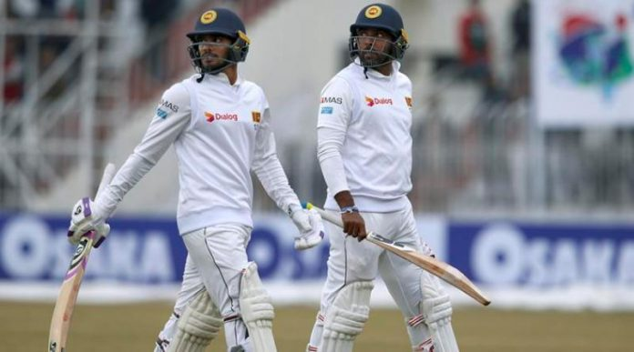 Pak Vs Sl : Wet outfield consumes morning session