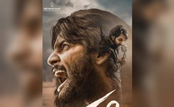 First Look Poster Of Aadi's Next Film 'Sashi'