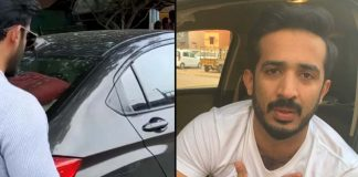 TV Anchor Ravi Mini Truck hits Ravi Car, Escaped unharmed