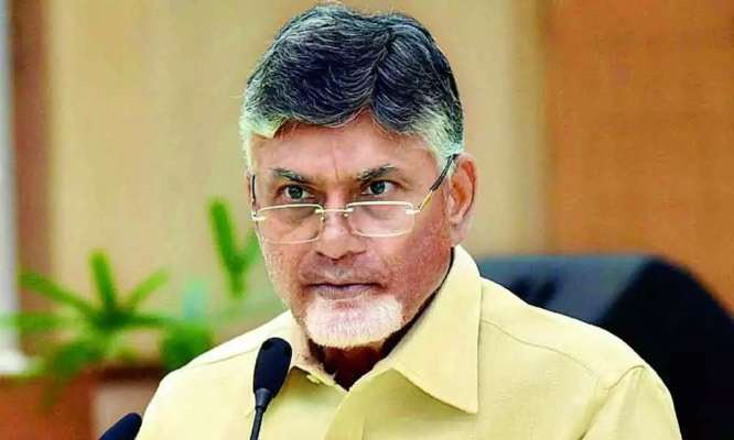 Nara Chandrababu Naidu inaugurates new TDP office in Mangalagiri