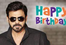 Happy Birthday Victory Venkatesh