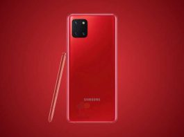Samsung Galaxy Note 10 Lite Renders Leaked, Colour Options Tipped