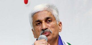 YSRCP MP Vijayasai Reddy tweets on TDP Chief Chandrababu and Nara Lokesh.