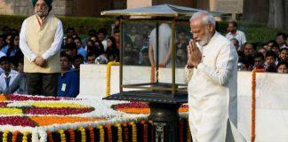 PM Modi pays tributes to Mahatma Gandhi on his death anniversary
