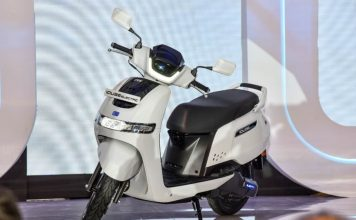 TVS iQube Electric scooter launched in Bengaluru