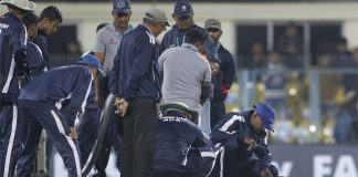 IND Vs SL: First T20I abandoned due to wet patches on pitch