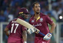 Simmons, Lewis help West Indies to draw series Against Ireland