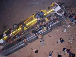 9 died, 41 injured as bus fall off from bridge in Odisha