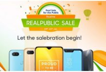 Realme Realpublic Sale to Begin from January 19