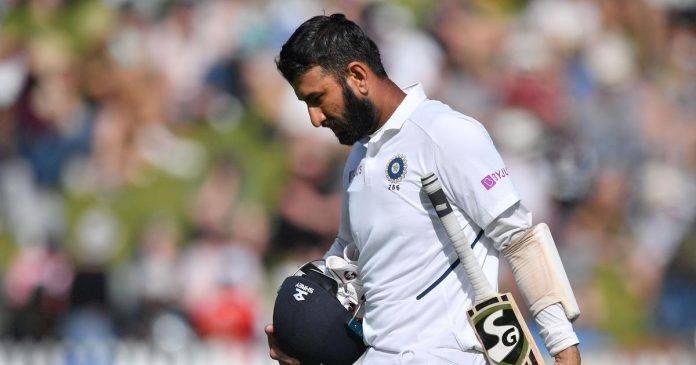 Nz Vs Ind: Pujara Fights But India Lose Three in Second Session