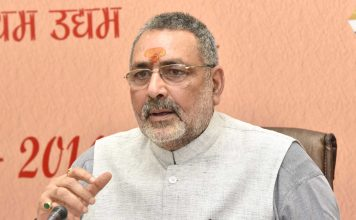 Shaheen Bagh Now Suicide Bombers' Breeding Ground: Minister Giriraj Singh