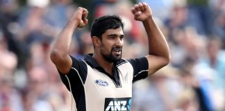 Sodhi, Tickner to join NZ squad for third ODI versus India
