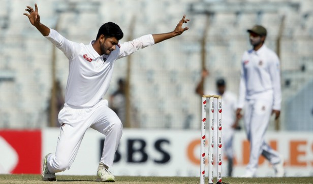 Nayeem, Taijul Shine as Bangladesh handed Zimbabwe innings defeat