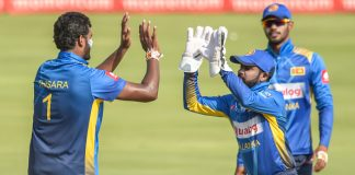 Dickwella, Thisara picked for West Indies ODIs