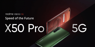 Realme X50 Pro 5G with Dual Selfie Cameras, Snapdragon 865 SoC Launched