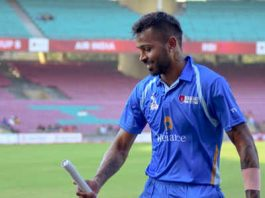 Hardik Pandya on Tuesday destroyed bowlers with a 37-ball century in a T20 tournament in Mumbai, making a strong case for his inclusion in India's squad for the upcoming three-match One-day International (ODI) series against South Africa is yet to announce soon. Hardik, who underwent surgery in 2019, was left out of the New Zealand tour after failing a fitness test.