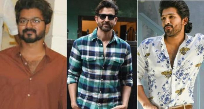 Hrithik Roshan comments on Stylish Star Allu Arjun dance moves