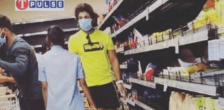 Stylish Star spotted at a grocery store in Jubilee Hills