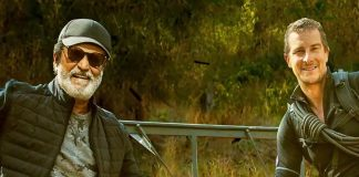 Superstar Rajinikanth in a Forest with Adventurous Feats!