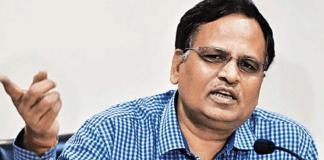 Delhi Health Minister Satyendar
