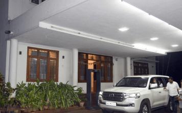 Karnataka Chief Minister B.S. Yediyurappa's home-office