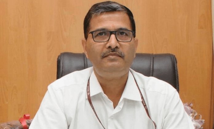 Railway Board Chairman V.K. Yadav