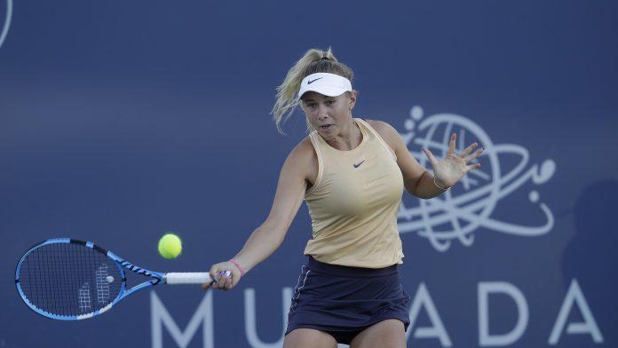 Amanda Anisimova victory over fellow American Caroline Dolehide