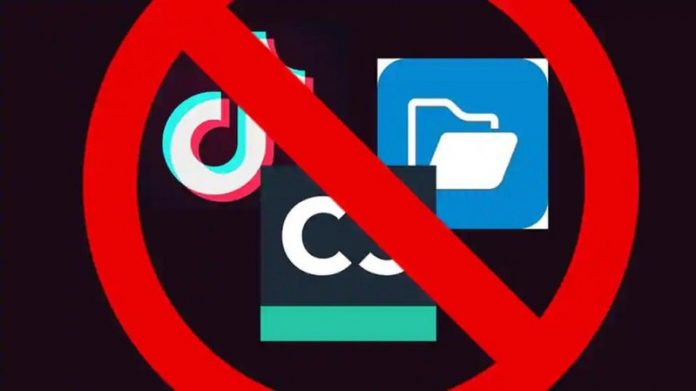 China was concerned about the Indian govt blocking 59 Chinese apps