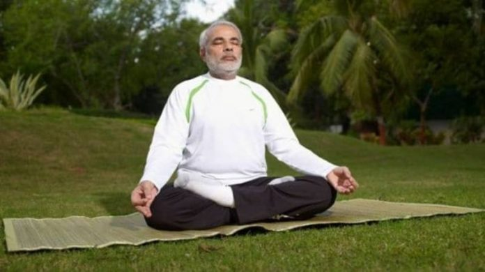 Modi was scheduled to take part in an International Yoga Day