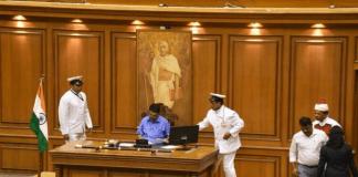 Speaker of the Goa assembly Rajesh Patekar