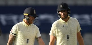 Sibley and Ben Stokes got England back into the game