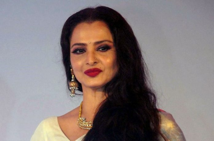 Actress Rekha refusing to give samples for the corona virus test