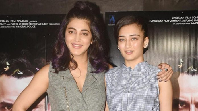 Shruti Hassan and her sister are going to share the screen space