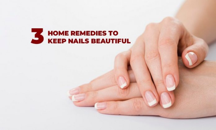 3 Home Remedies to Keep Nails Beautiful