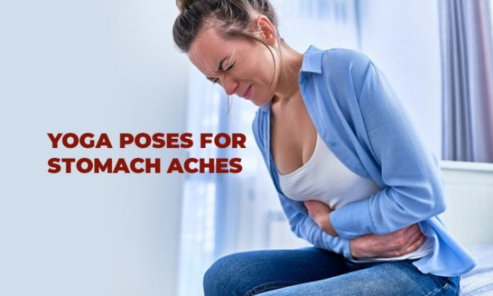 5 Yoga Poses for Stomach Aches