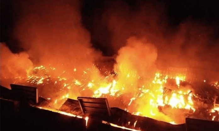9 trapped in Telangana power station fire mishap